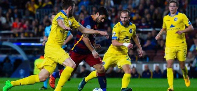 Barcelona Bate Borisov maç özeti
