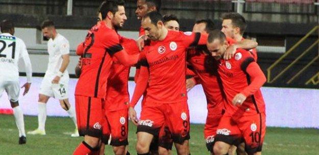 Akhisar Belediyespor Galatasaray maç özeti