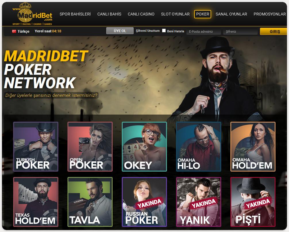 madridbet-poker