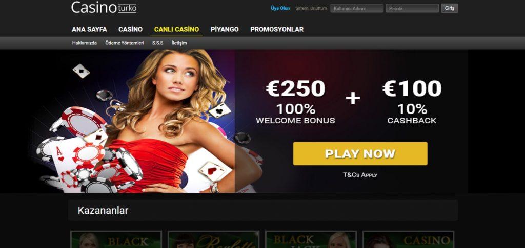 CasinoTurko-hizmetleri