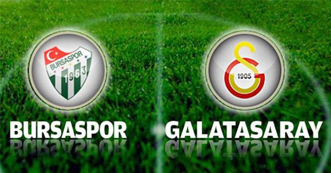 Bursaspor Galatasaray Maç Tahmini 29 Nisan Cuma