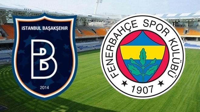 Başakşehirspor Fenerbahçe 9 Mayıs Maç Tahmini