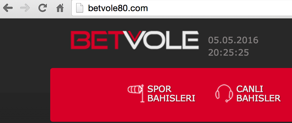 Betvole80.Com Yeni Adres