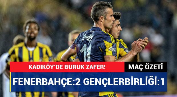 Fenerbahçe Gençlerbirliği 15 Mayıs Maç Özeti