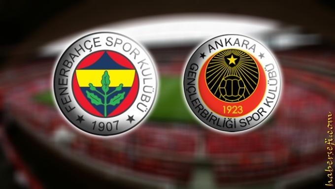 Fenerbahçe Gençlerbirliği 15 Mayıs Maç Tahmini