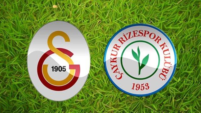 Galatasaray Çaykur Rizespor 4 Mayıs Maç Tahmini