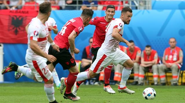 Arnavutluk İsviçre 11 Haziran 0-1 Maç Özeti