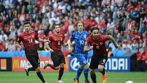 Euro 2016 Türkiye Hırvatistan 12 Haziran Maç Özeti