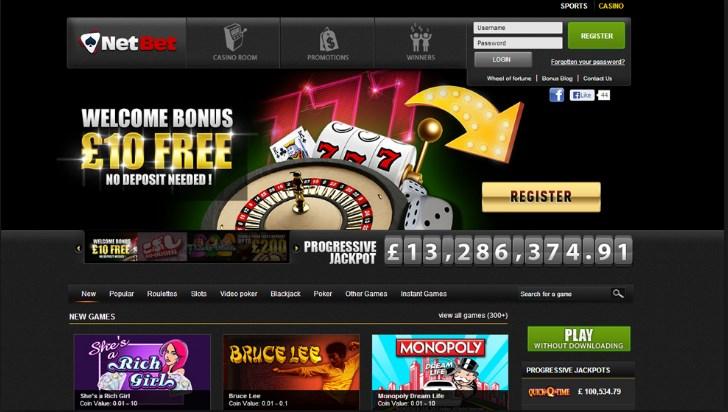 netbet casino welcome