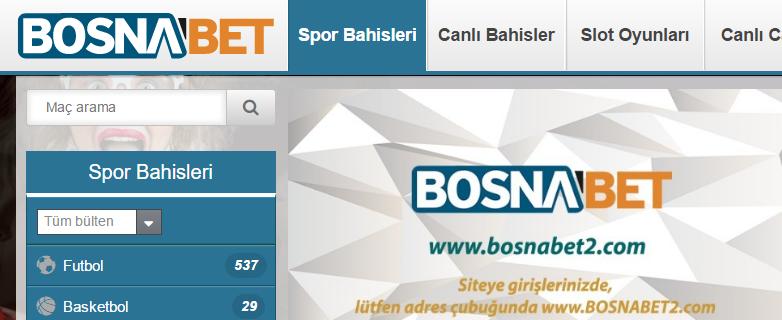 Bosnabet Bahis ve Casino Şirketi Tanıtımı