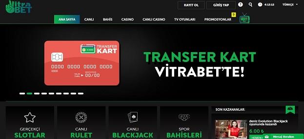 Vitrabet Bahis Sitesi Tanıtım Görseli