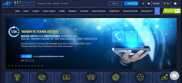 Betspace Bahis Sitesi Tanıtım Görseli