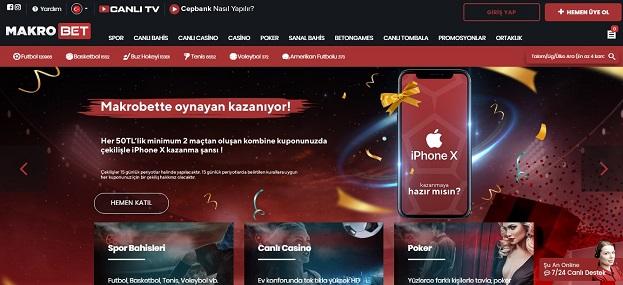 Makrobet Bahis Sitesi Tanıtım Görseli